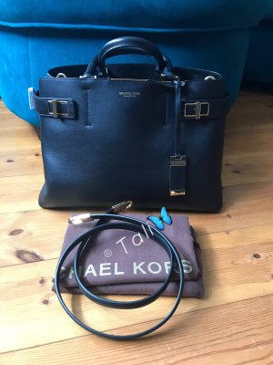 Michael Kors Collection Tasche Audrey Large LG Farbe: Schwarz Gold