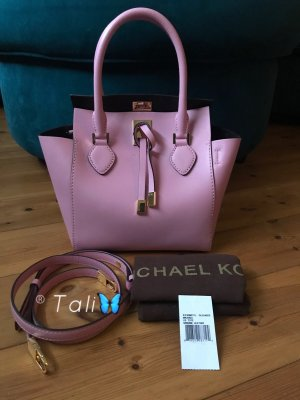 Michael Kors Collection Tasche Miranda Oleander Rosa Gold