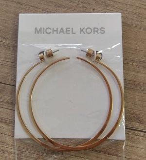Michael Kors Creole mkj5999710 neu gold Ohrringe durchzieher