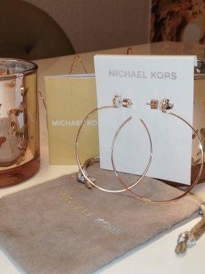 Michael Kors Créoles or rose