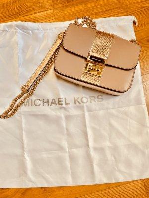 Michael Kors Borsa a spalla color oro rosa-rosa antico