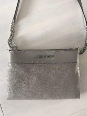 Michael Kors Crossbody Tasche Grau/Silber