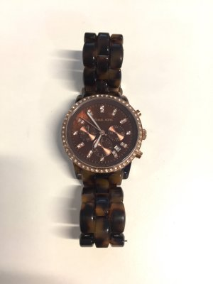 Michael Kors Damen-Armbanduhr Chronograph mit Strass