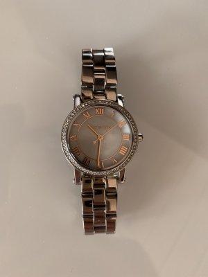 Michael Kors Damen Armbanduhr MK-3557 Rosé Silber