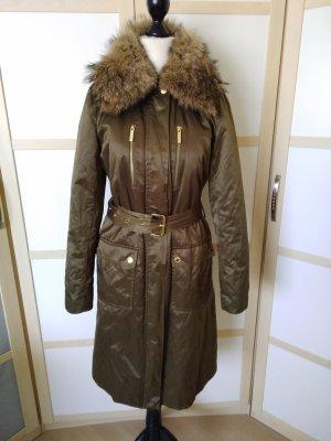 MICHAEL KORS Damen Mantel mit Pelzkragen