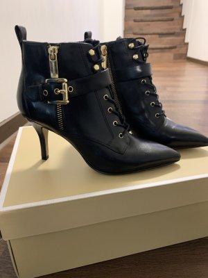 Michael Kors Damen Schuhe Gr. 35,5 in Schwarz /Gold NEU mit Etikett