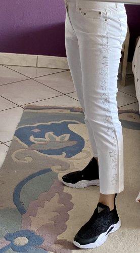 MICHAEL KORS Damen Selma Skinny Jeans in Weiß Gr.36(4)