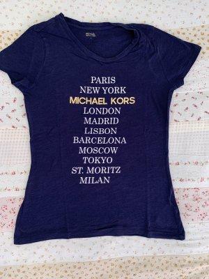 Michael Kors Damen Shirt Blau Gr. S