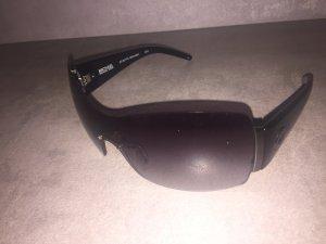 Michael Kors Hoekige zonnebril zwart-grijs kunststof