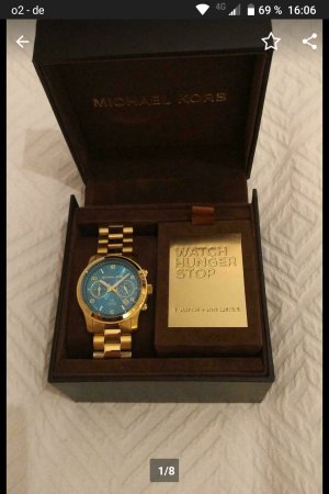 Michael Kors Analog Watch gold-colored-blue