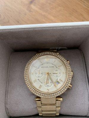 Michael Kors Reloj con pulsera metálica amarillo oscuro
