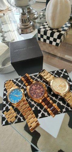 Michael Kors Damenuhr 3 Stück Armbanduhren