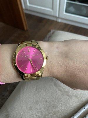 Michael Kors Orologio con cinturino di metallo rosa-oro