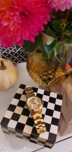 Michael Kors Reloj con pulsera metálica color oro