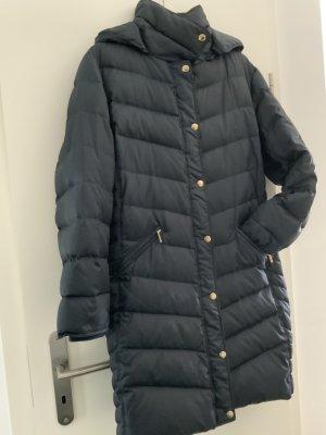 Michael Kors Down Coat blue-dark blue mixture fibre