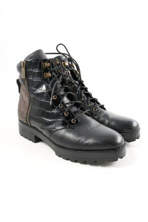 Michael Kors Chukka boot noir style décontracté