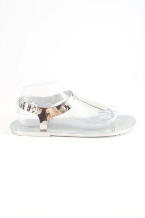 Michael Kors Sandały japonki srebrny W stylu casual