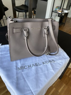 Michael Kors Dillon EW NS Satchel Dusty Grey aus Saffiano Leder