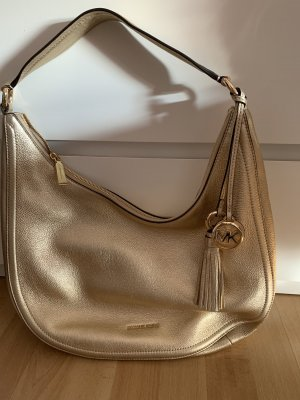 Michael Kors Hobos gold-colored leather