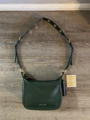 Michael Kors echt Leder Tasche Crossbody Bag goldene Ösen Np 350€
