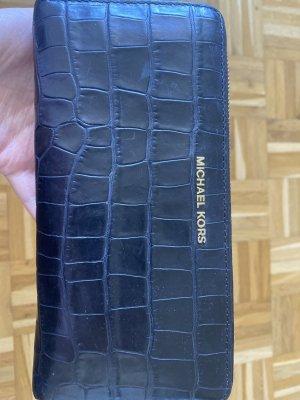 Michael Kors Wallet anthracite-black leather