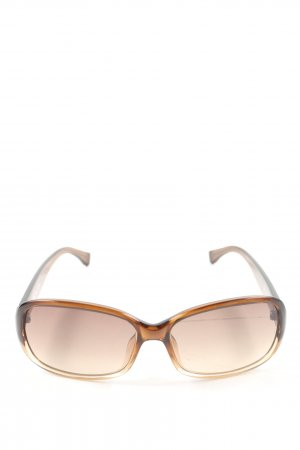 Michael Kors eckige Sonnenbrille bronzefarben-nude Casual-Look