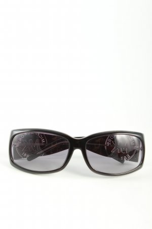 Michael Kors eckige Sonnenbrille schwarz Casual-Look