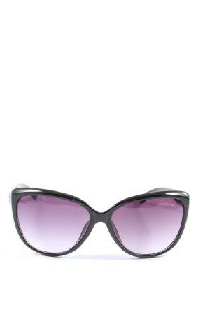 Michael Kors Gafas mariposa negro-lila look casual
