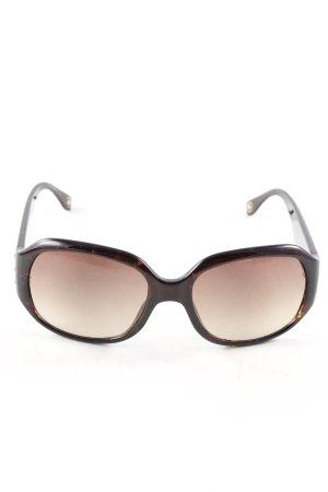 Michael Kors Hoekige zonnebril zwart kleurverloop casual uitstraling