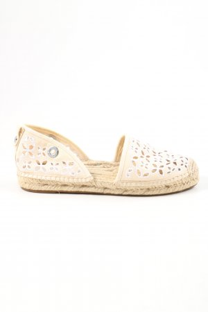 Michael Kors Espadrille Sandals nude-white casual look