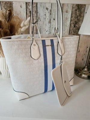 Michael Kors Eva Large Logo Stripe Tote Bag NEU