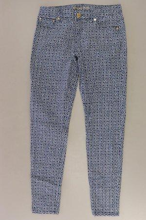 Michael Kors Five-Pocket Trousers blue-neon blue-dark blue-azure cotton