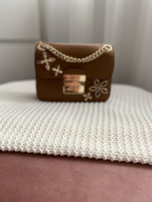 Michael Kors Flowers SM Chain Shoulder Bag