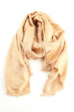 Michael Kors Fringed Scarf nude casual look