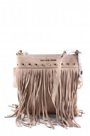 Michael Kors Fringed Bag natural white casual look