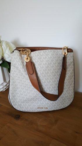 Michael Kors Carry Bag cognac-coloured-natural white