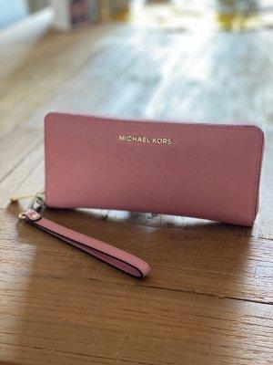 Michael Kors Geldbeutel Jet Set rosa Handyfach