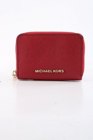 Michael Kors Wallet red weave pattern casual look