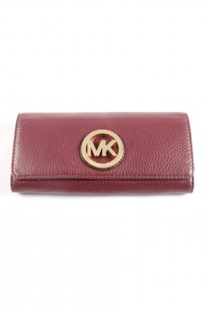 Michael Kors Geldbörse rot Business-Look