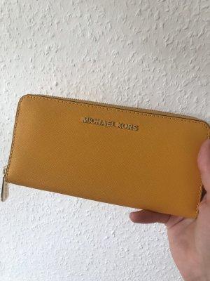 Michael Kors Portefeuille orange doré-jaune