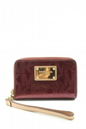 Michael Kors Wallet red allover print casual look