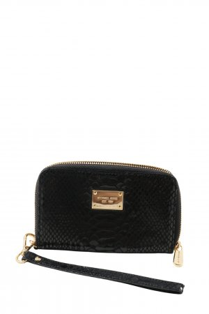 Michael Kors Wallet black animal pattern casual look