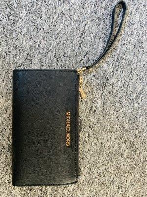 Michael Kors Wallet black-gold orange