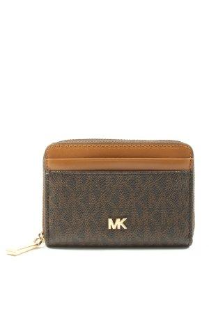 Michael Kors Wallet brown-light orange allover print casual look