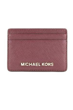 Michael Kors Portefeuille rouge mûre