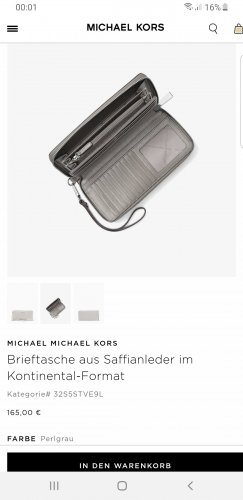 Michael Kors Geldbörse NEU