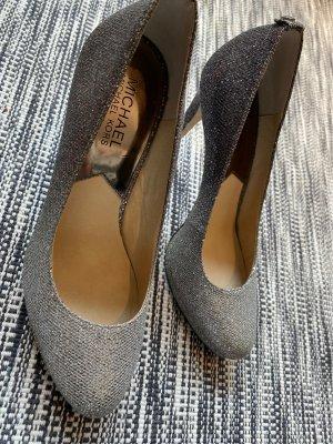 Michael Kors Glitzer Schuhe in grau mit Farbverlauf