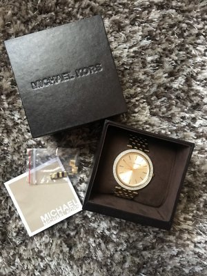 Michael Kors goldene Uhr