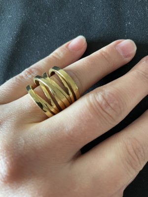 Michael Kors Złoty pierścionek złoto