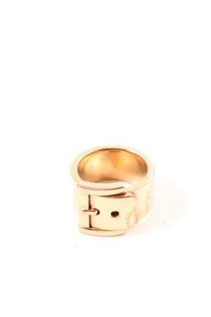 Michael Kors Goldring goldfarben Business-Look